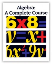 Algebra: A Complete Course