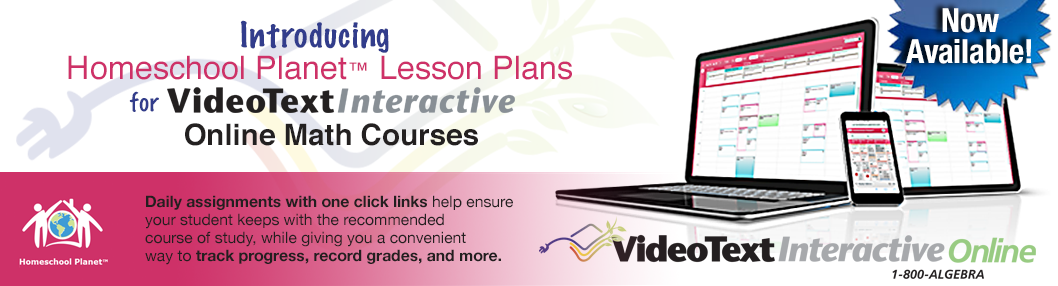 NEW! An Even Easier Way to Stay on Track with VideoText Lesson Plans!